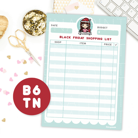 PRE-MADE CHIBI PLANNER GIRL KEENACHI PRINTABLE CLIP ART