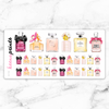 PERFUME STICKERS DAILY - A116 - KeenaPrints planner stickers bullet journal diary sticker emoji stationery kawaii cute creative planner