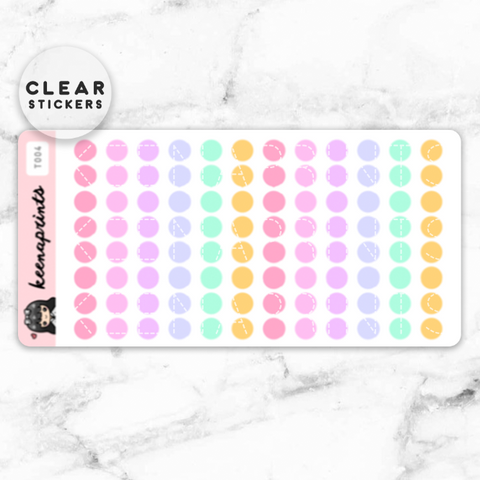 LOLA SAMPLER 2 CLEAR STICKERS - T005
