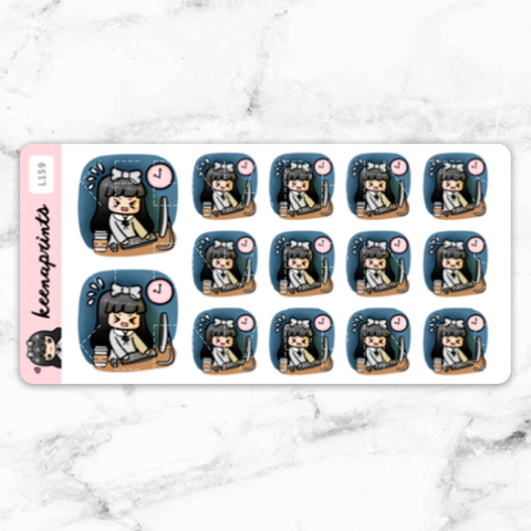 MARBLE LOLA STICKER ALBUM - SA003
