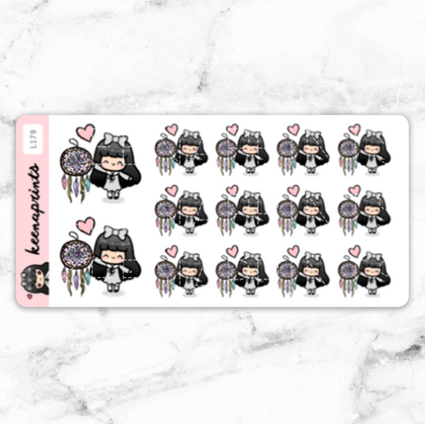 MOMLIFE STICKERS LOLA - L181