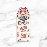 SWEET LOLITA PAGE MARKER POCKET - BM064 - KeenaPrints planner stickers bullet journal diary sticker emoji stationery kawaii cute creative planner