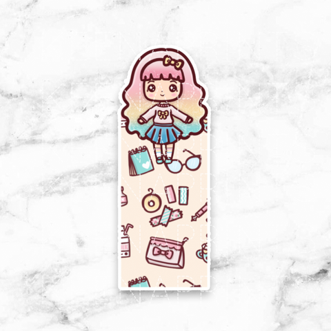 WEDNESDAY PLAN BOOKMARK - BM001