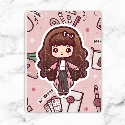 RAINY DAY STICKERS LOLA - L016