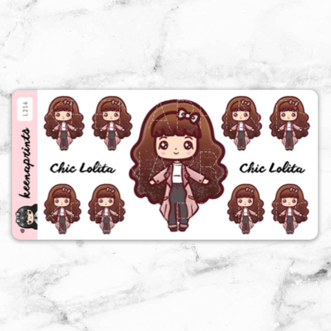 CASH FLOW TRACKER STICKERS LALA - L206