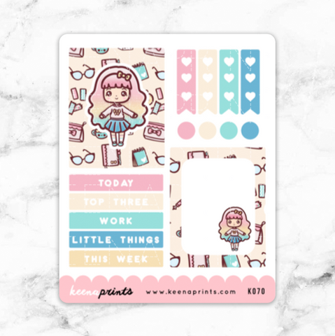 STUDENT PAGEFLAGS PRINTABLE STICKERS