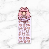CANDY LOLITA PAGE MARKER POCKET - BM068 - KeenaPrints planner stickers bullet journal diary sticker emoji stationery kawaii cute creative planner