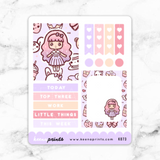 CANDY LOLITA FULL BOX STICKERS - K073 - KeenaPrints planner stickers bullet journal diary sticker emoji stationery kawaii cute creative planner