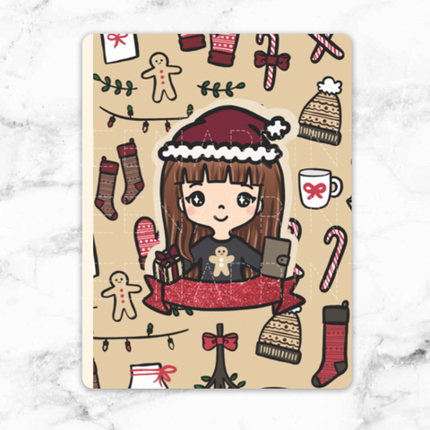 COZY HOLIDAY PLANNER POUCH - MR030