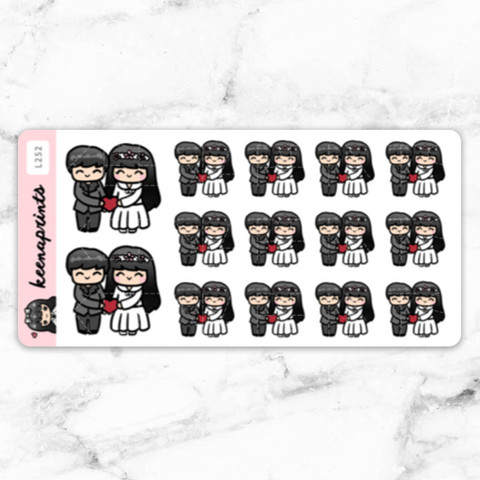 [ EXCLUSIVE] KEENA CHIBI ROSEGOLD FOILED WASHI TAPE - WT016