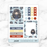 NAUTICAL LOLITA FULL BOX STICKERS - K074
