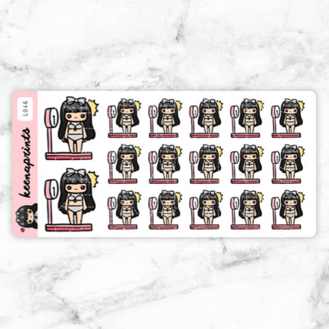 NEW RELEASE STICKERS LOLA - L094