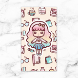 SWEET LOLITA LAMINATED DASHBOARD - DB021 - KeenaPrints planner stickers bullet journal diary sticker emoji stationery kawaii cute creative planner
