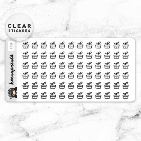 LOLA SAMPLER 10 CLEAR STICKERS - T026