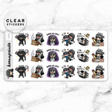 LOLA SAMPLER 11 CLEAR STICKERS - T032