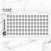 GIFT BOX CLEAR STICKERS DAILY - T049