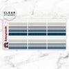 NAVY LABEL CLEAR STICKERS - T064