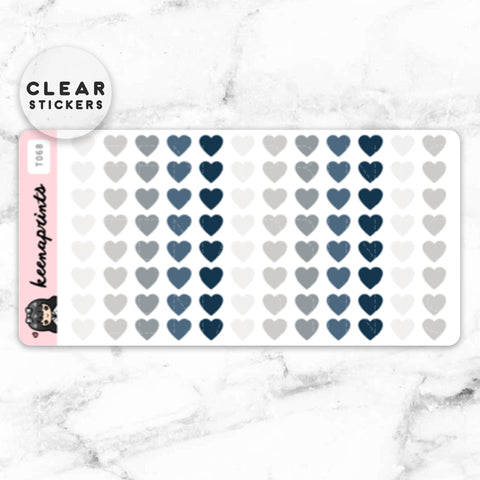 LOLA SAMPLER 19 CLEAR STICKERS - T045