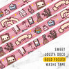 SWEET LOLITA DECO GOLD FOILED WASHI TAPE - WT028