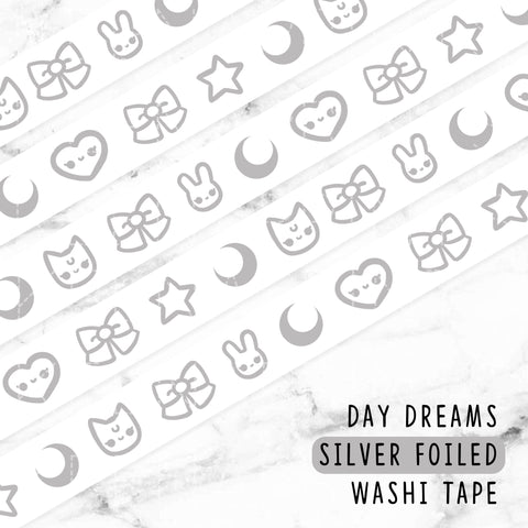 SUNSHINE LOLITA GOLD FOILED WASHI TAPE - WT030