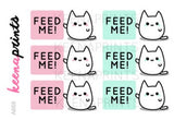 FEED ME KEEMOJI DAILY STICKERS A668