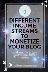 9 Ways to Make Money from your Blog!