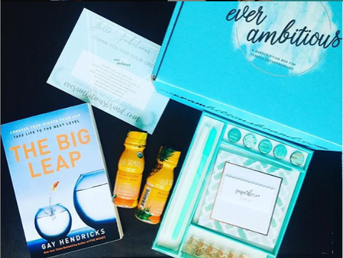 January 2019 Ever Ambitious Monthly Subscription Box