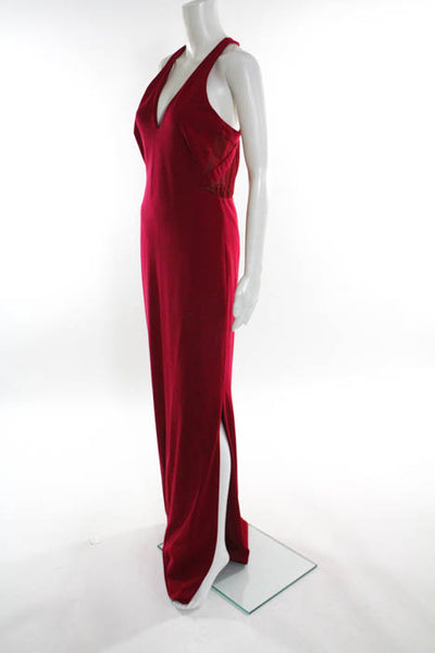 Nicole Miller Collection Red Deep Love Gown Size 8 $420 10428779