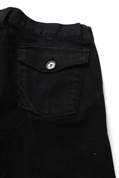 Anlo Black Cotton Boot Cut Jean Size 28 NEW