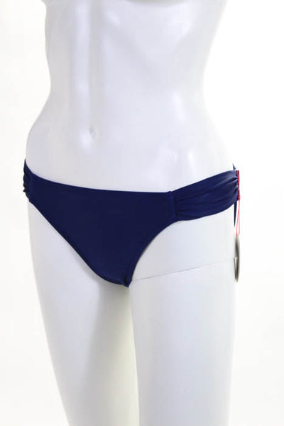 Profile Blush by Gottex  Navy Blue Bikini Bottoms Size Extra Small NEW MSRP $44