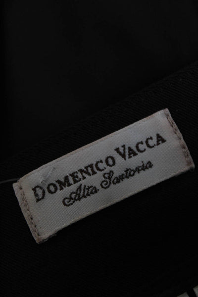 Domenico Vacca Womens Wool High Waist Boot Cut Dress Pants Brown Size 40 Italian