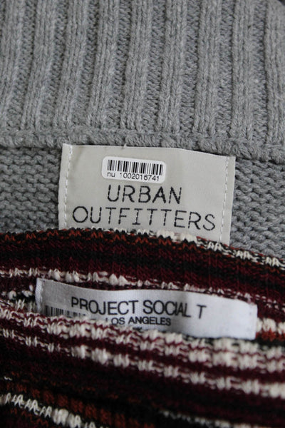 Urban Outfitters Women's Oillie Oversized Sweater Vest Size Medium Lot 2