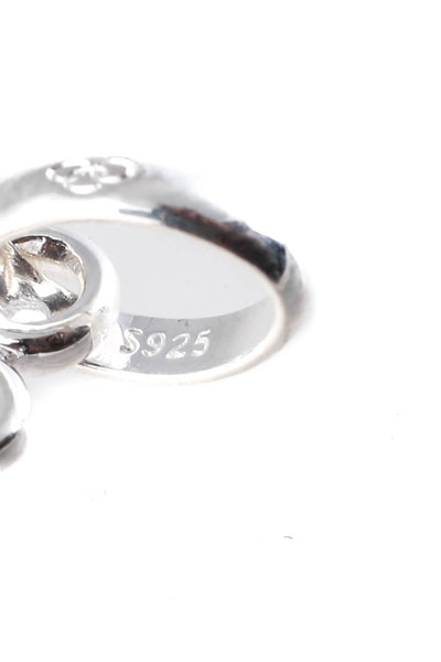 Links of London Womens Sterling Silver Zodiac Snake Keepsake Charm