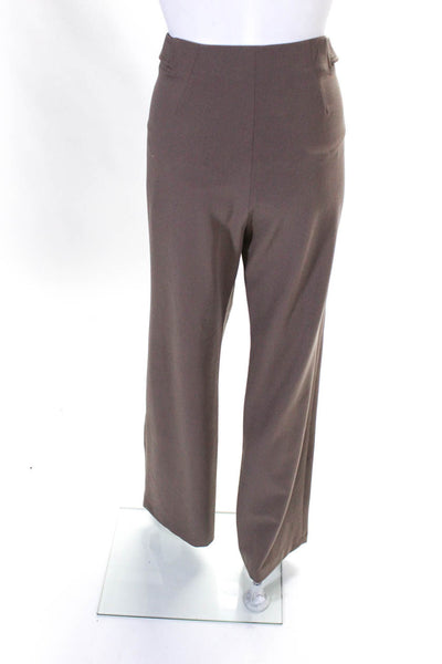 Farrington Womens Wide Leg Henry Trousers Pants Dusty Rose Size 44 European