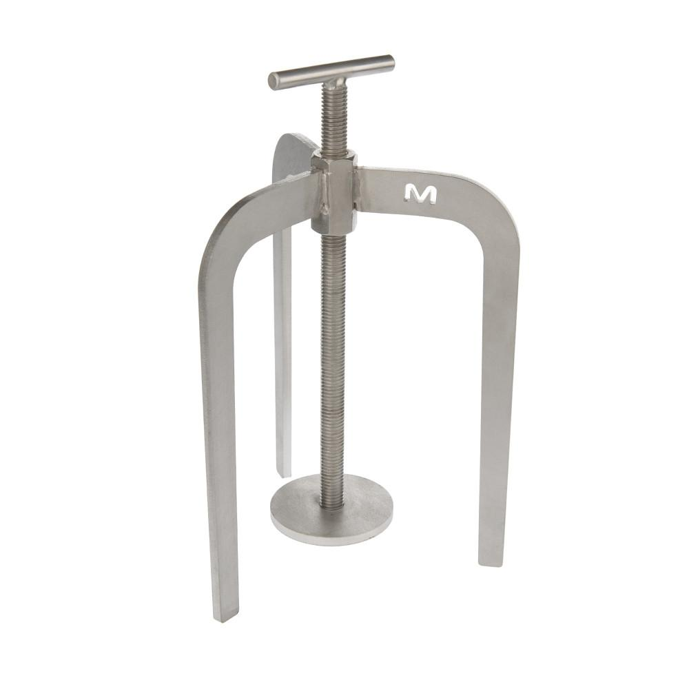 Stainless Steel Screed Spider. Tripod for levelling screed and flowing concrete.