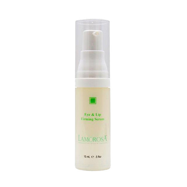 Eye & Lip Firming Serum with Oligopeptides, Hyaluronic Acid and Vitamin C | Botox Alternative and Collagen Booster - LamorosA Natural Skin Care