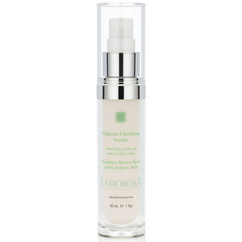 Pigment Clarifying Serum with Kojic, Salicylic and  Azelaic Acid |  Brightens Brown Spots and Exfoliates Skin