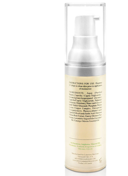 Rejuvenating Serum with Wild Yam Extract, Lavender and  Voluform technology | Reduces fine lines and wrinkles while firming the face - LamorosA Natural Skin Care