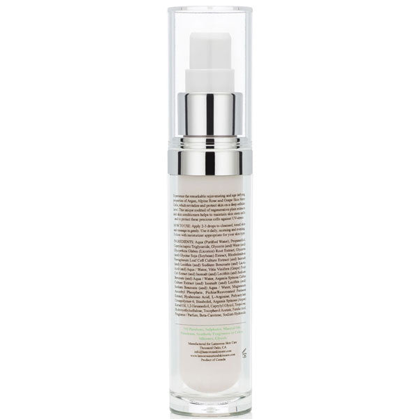 Resveratrol Serum with Argan and Hyaluronic Acid plus Grape Seed Stem Cells and Alpine Rose - LamorosA Natural Skin Care
