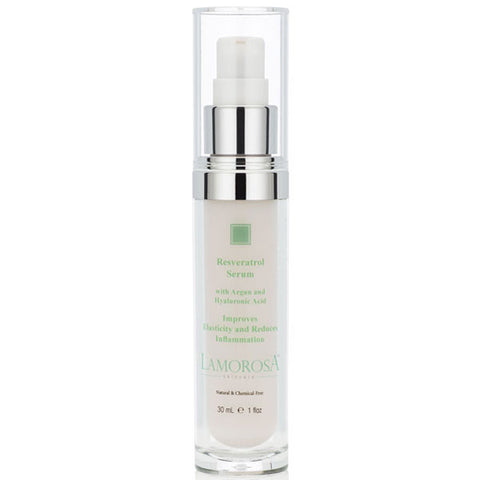 Resveratrol Serum with Argan and Hyaluronic Acid plus Grape Seed Stem Cells and Alpine Rose