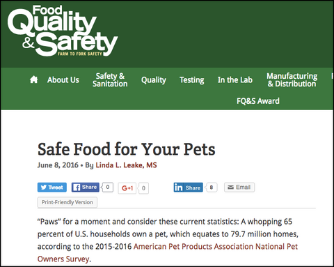 treatibles in food safety article