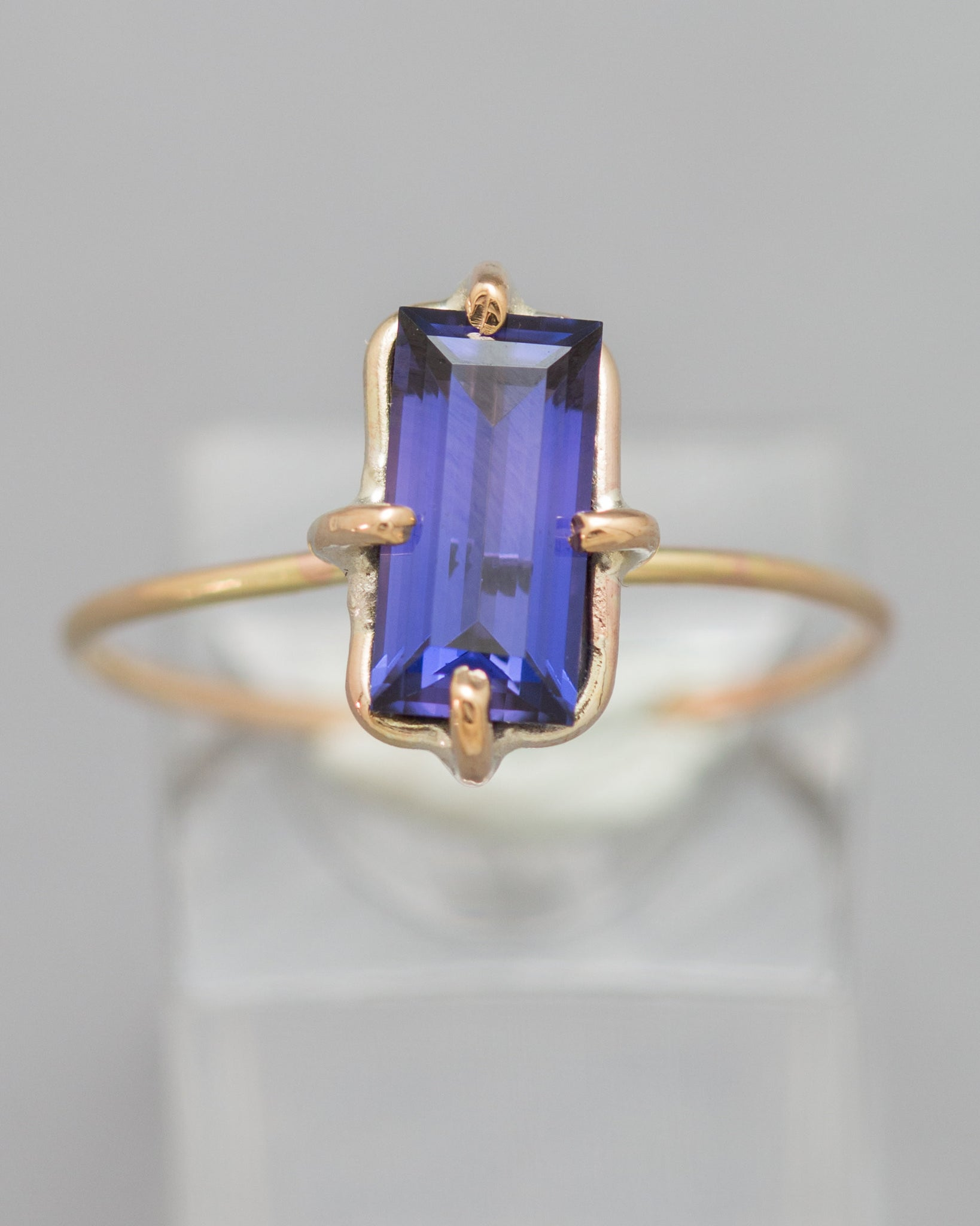 Alexandrite Stacking Ring