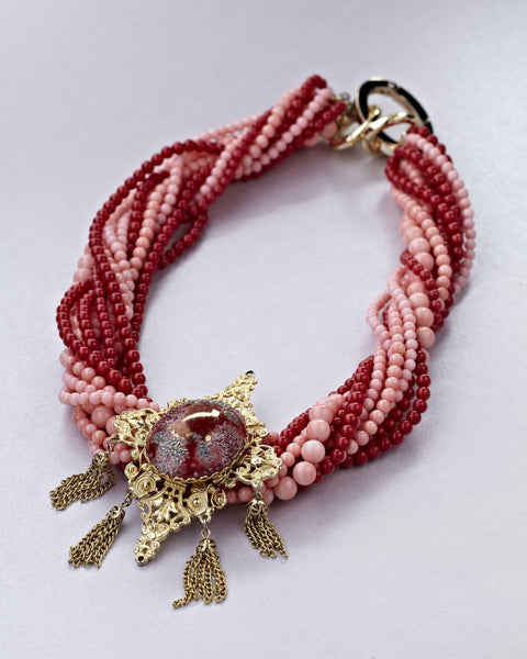Coral and Red Baroque