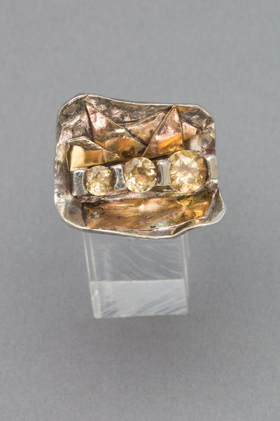 Kapow!¡ Citrine Ring