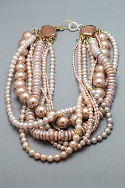 A Plethora of Blush Pearls