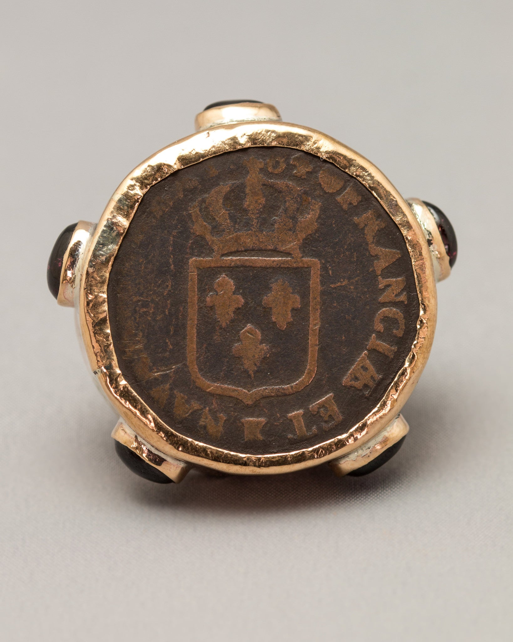 Quite Franci-ly A Beautiful Coin Ring