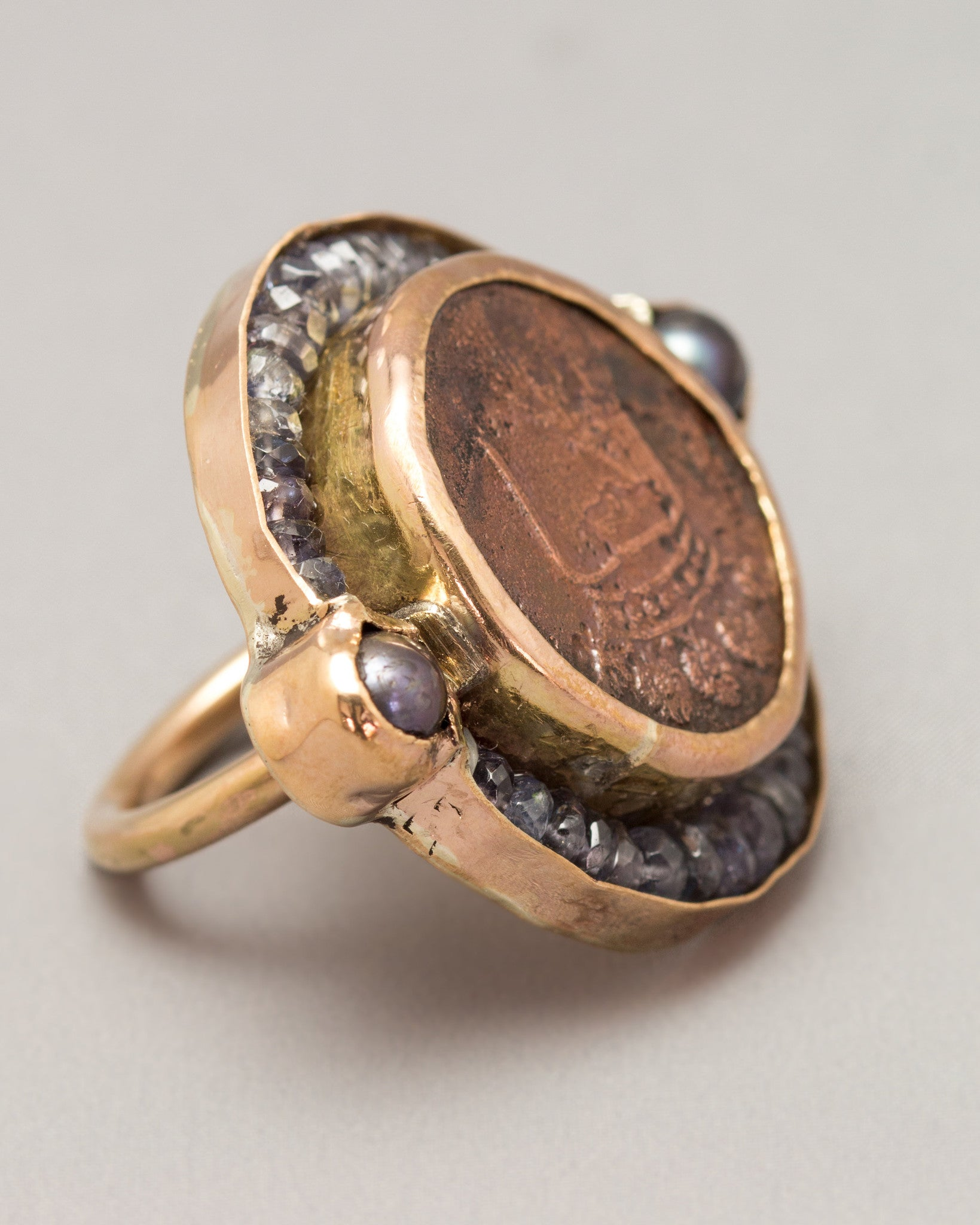 A New York Penny Ring