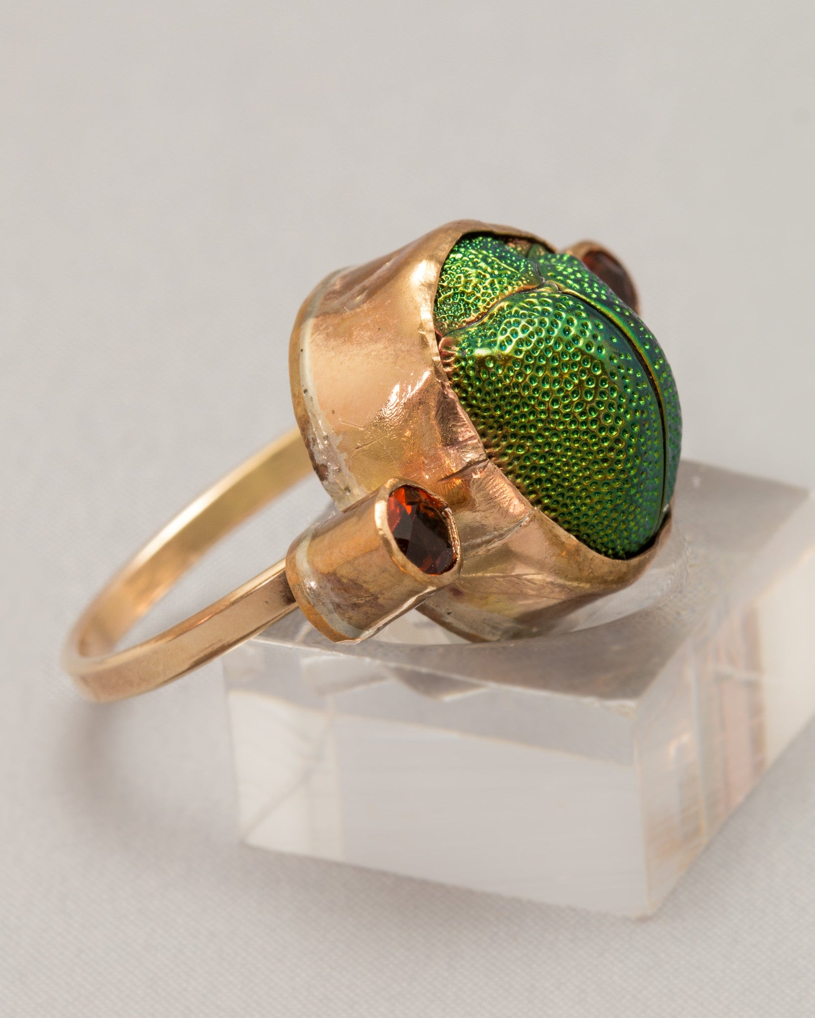 Scarab Statement Ring