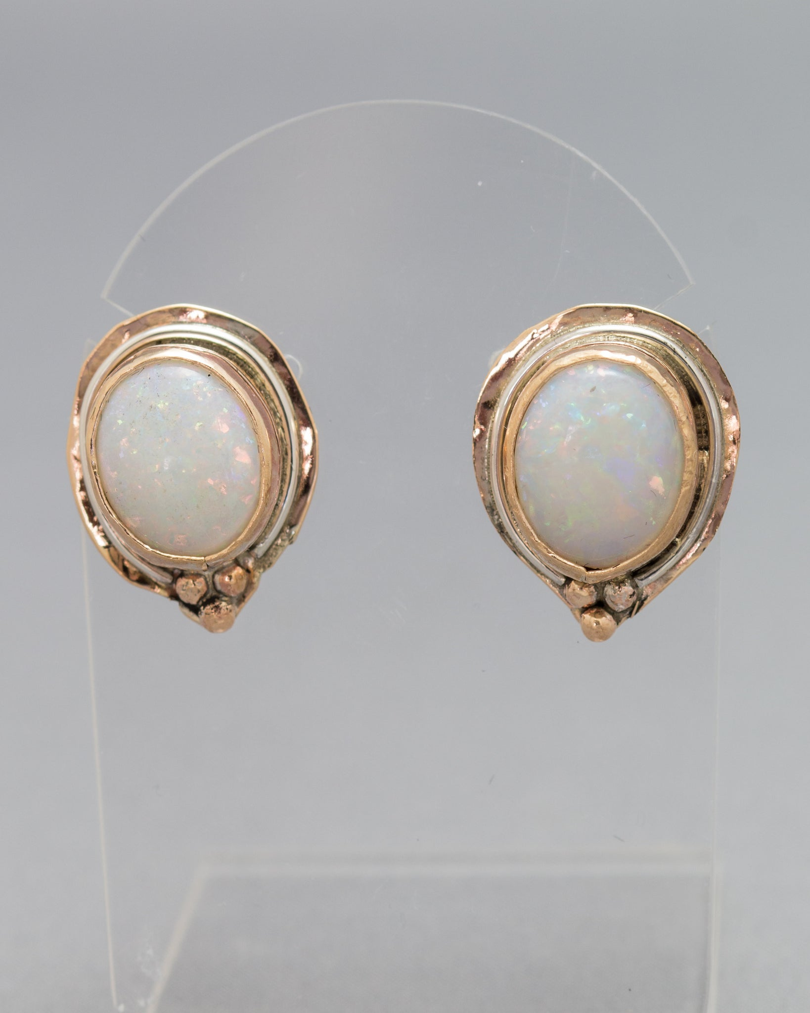Opal Cabachon Earrings