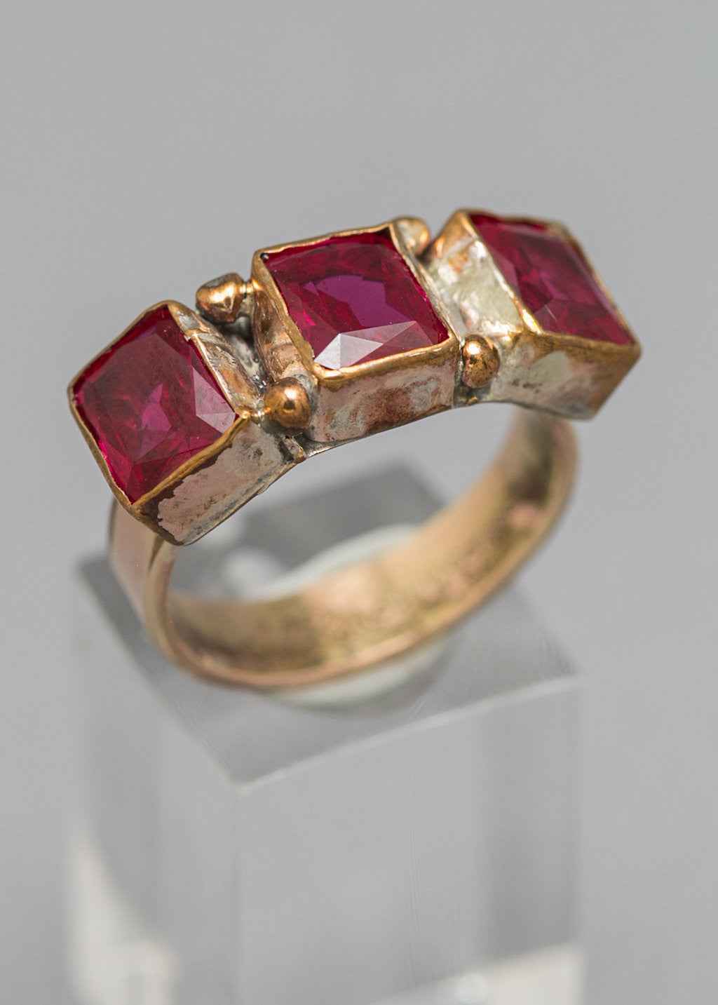 Rubies galore ring